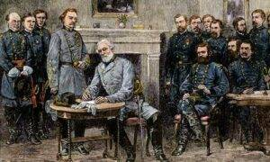 R.E. Lee Surrenders As Traitor
